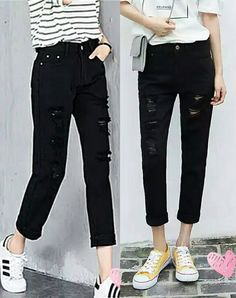 Ophira 16E Jeans size 25-32 Capri Pants, Black Jeans, Ship, How To Wear, Stuff To Buy, Fashion, Moda, Capri Trousers, Fashion Styles