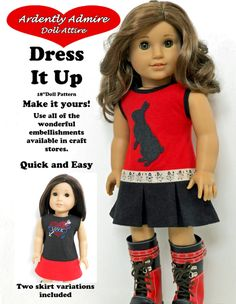 DRESS IT UP 18 INCH DOLL CLOTHES