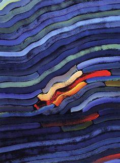 Jan Dobkowski, Pejzaż wyobraźni I, 1988, olej, akryl, płótno, 160 x 120 cm