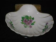 Vintage Nasco Shell Shaped Porcelain Soap or Trinket by parkie2