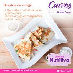 #TipNutrición #NutriciónCurves #Recetas #Salud #Bienestar