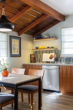 rustic + modern kitchen by Michael Jerome