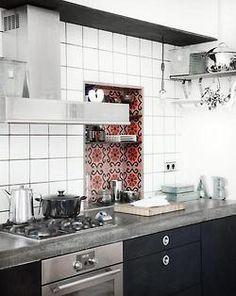 Lovely tiles! Photo from Bonytt.no.