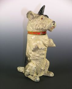 1930's TERRIER DOG LIGHTER Vintage Cigarette Austria Cigar Clever Dog, Terrier Dogs, Scottie, Cigars, Austria, Lighter, 1930s, Lion Sculpture, Scottish Terriers