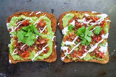 Vegan Mexican Avocado Toast