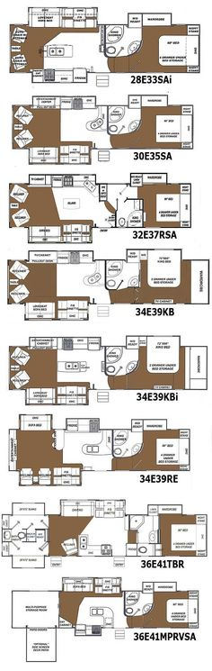 11 best 5th wheel floor plan images 5th wheel camper camper rh pinterest com