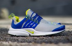 Nike Air Presto Cyber Yellow & Hyper Blue (Detailed Pictures)
