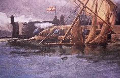 El mar engulle todo lo que los humanos destruyen. La avaricia se acerco al puerto y se encontró con un problema que no había resuelto. Asociación Histórico Cultural de la Gesta del 25 de Julio de 1.797 de Santa Cruz de Tenerife.