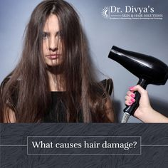 Excess washing, rough grooming, strong hair products, inadequate diet, exposure to harsh wind or sunlight, etc. are the most common causes of hair damage. #Hairdamage #Haircare