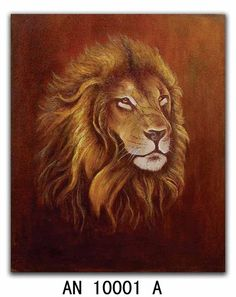 Animal Oil Painting, Giclee Prints, Canvas Oil Painting (AN 10001 A)