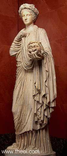 Ancient Greek & Roman Sculpture: Muse Thalia