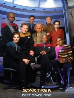 Star Trek: Deep Space Nine - I like every single cast member! Odo, Worf, Sisko are my favourites. Little pieces of them inside of me.  -agree