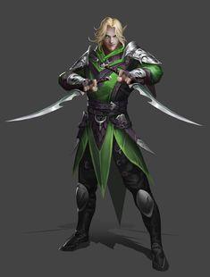 Fantasy Heroes, Elves Fantasy, Fantasy Male, Fantasy Warrior, Fantasy Rpg, Medieval Fantasy, Fantasy Artwork, Fantasy Character Design, Character Concept