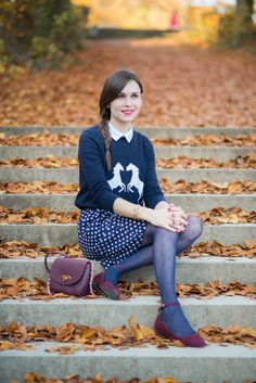 Blog-Mode-And-the-City-Looks-Sarenza. Daphne has such style and sophistication
