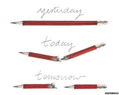 pen mightier than sword quote with broken pencils | Cartoon showing a pencil which is broken therefore creating two ...