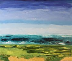 "Saatchi Art Artist Geeta Biswas; Painting, ""Golf"" #art #golf #golfcourse #golfart #painting #abstract #conceptart #conceptual #original #acrylic #canvas"