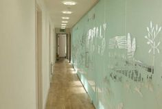 Architectural Bespoke Sandblasted Glass Screen in a Medical Centre Windsor Sandblasted Glass, Glass Screen, Architecture, Windsor, Bespoke, Centre, Projects, Medical, Inspiration