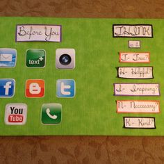 Bulletin board (original idea from School Counselor's Blog)