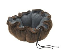 """Bowsers Eco Buttercup Bed for Small Dogs and Cats, Chestnut, Large 32"""" by Bowsers, http://www.amazon.com/dp/B007IVZ5U4/ref=cm_sw_r_pi_dp_oJG1qb06ZM157"""