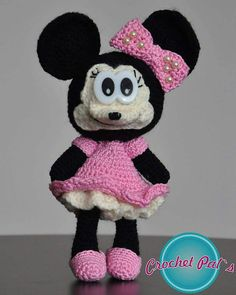 Check out this item in my Etsy shop https://www.etsy.com/listing/510654526/amigurumi-minimouse-crochet-doll-crochet