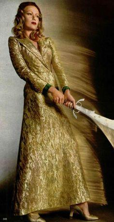 1971-72 - Yves Saint Laurent evening coat