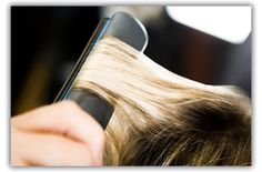 How to Curl Hair with Flat Iron. Well it certainly sounds easy...