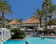 Cape Reed International was closely involved in the transformation of the Sea Grill Restaurant located at the Puente Romano Beach Club. Marbella Spain, Grill Restaurant, Timber Structure, Pool Bar, Thatched Roof, Beach Club, Luxury Living, Adventure Travel