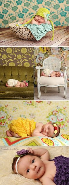 Love these floral backdrops!