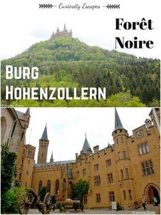 Burg Hohenzollern: château féerique en Forêt Noire, Allemagne (Bade Wurtemberg)