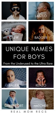 Unique Boy Names That Are Uncommon Yet Cool - Baby Boy Names Baby Girl Names Boy Names Creative, Cool Boy Names, Trendy Baby Boy Names, Cute Baby Names, Uncommon Baby Boy Names, Modern Names For Boys, Baby Names For Boys, Best Boy Names, Badass Boy Names