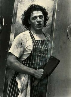 """Marco Pierre White - my favorite chef and one of the best autobiographies I've read in """"the devil in the kitchen"""""""