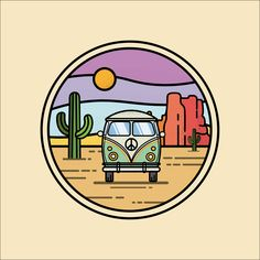 Where would you run away? 🏜⠀ Van Design, Running Away, Porsche Logo, Graphic Design, Logos, Velvet, Graphics, Illustrations, Art