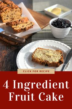 Dairy Free, Fat Free, Egg Free, a delicious 4 ingredient fruit cake is delicious pantry staples made with tea. 3 Ingredient Scones, 4 Ingredient Recipes, 3 Ingredient Fruit Cake Recipe, Dairy Free Chocolate, Chocolate Recipes, Chocolate Art, Baking Recipes, Cake Recipes, Ww Recipes