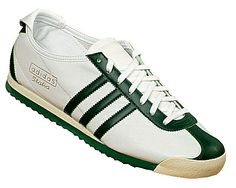 8248cff3e666 Adidas Italia 1960 White Green Leather Trainers