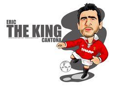 Eric Cantona in Cartoon