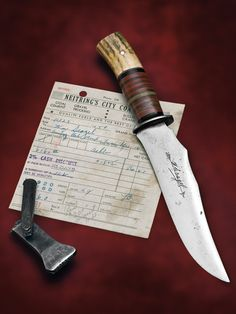 Scagel's Personal Knife, An Extremely Rare and Important Scagel Knife (Dr. Jim Lucie Collection) Estimate $20,000-28,000. SOLD: $41,300