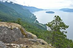 Tunnel Point Trail leads to sweeping views of Howe Sound