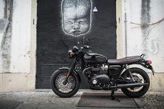 La Triumph Bonneville T 120 Black en 34 photos - Moto Journal