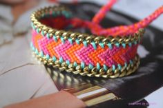 DIY : Customisation bracelet brésilien  | Manon Anchor