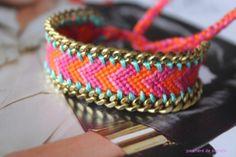 DIY : Customisation bracelet brésilien  | Manon Anchor