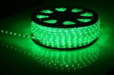 HomCom 150FT 2-Wire LED Rope Light Lamp Xmas W/ Adapter Holiday Decorative Cuttable 110V Green: Amazon.ca: Home & Kitchen