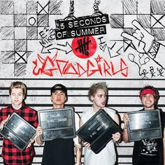 5SOS Good Girls EP available now on iTunes!! Get it now and I garuntee that you will fall in love with the band, if you haven't already!! You'll tell other people about 5sos when you come back down to Earth right?? haha ❤️‍