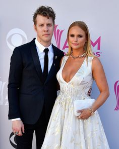 Recording artists Anderson East and Miranda Lambert attend the 52nd Academy of Country Music Awards.