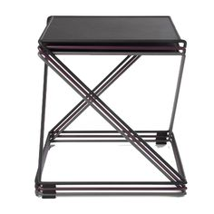 A modern take on the stacking side-table.