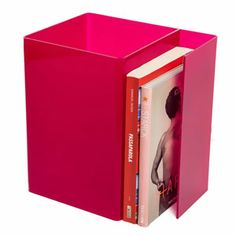 Lampada Booklight Fucsia by Designtrasparente