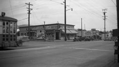 35th and MacArthur Boulevard, Oakland (ca. 1940s) via oaklandhistory.tumblr.com
