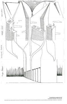 Cadáver exquisito / arquitectura / dibujo