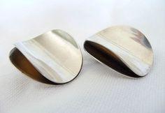 Tone Vigeland Earrings - Rose Series - Vintage Norway Designs 1960's