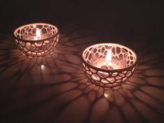 3D Printed! Tea Light Holder (made from Polyamide)