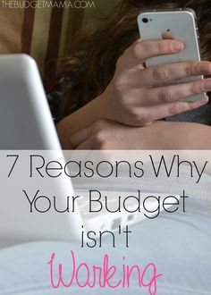 If your budget isn't working, it could be because of one of these common mistakes. Keep yourself from wrecking your budget by avoid these 7 pitfalls.